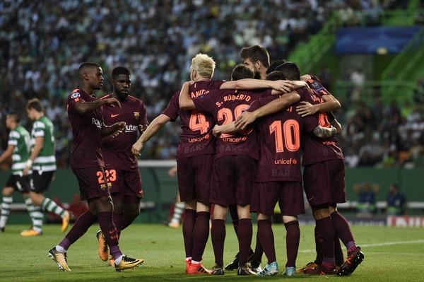 Sporting+CP+v+FC+Barcelona+UEFA+Champions+IZpHfxQW35Wl
